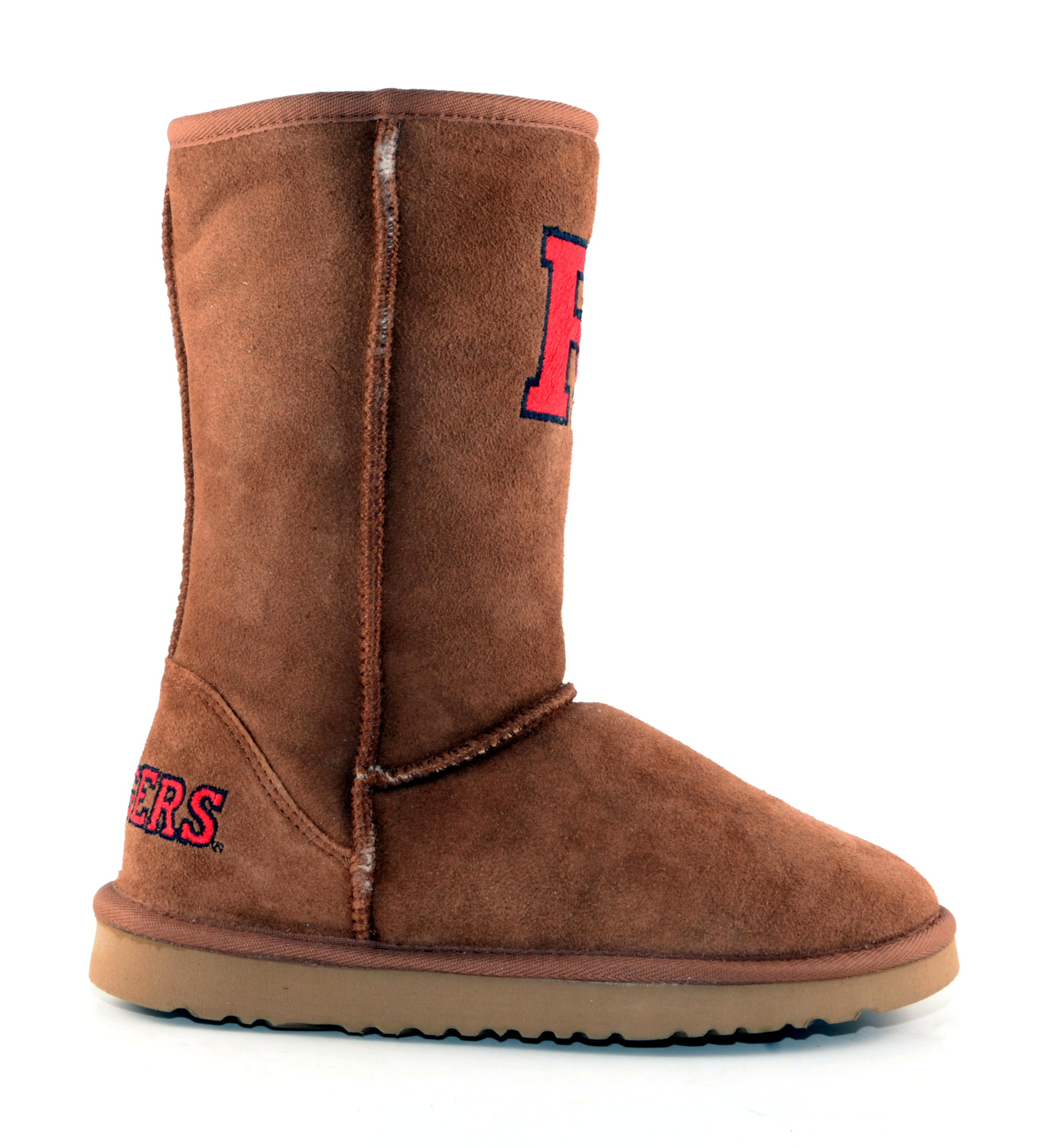 Gameday NEW Womens Hickory Rutgers Lined Short Classic Roadie Boots (Size 10)