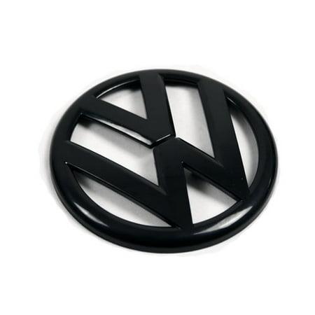 10-14 VW Mk6 Golf/Gti Euro Rear Trunk Emblem Badge - Gloss Black