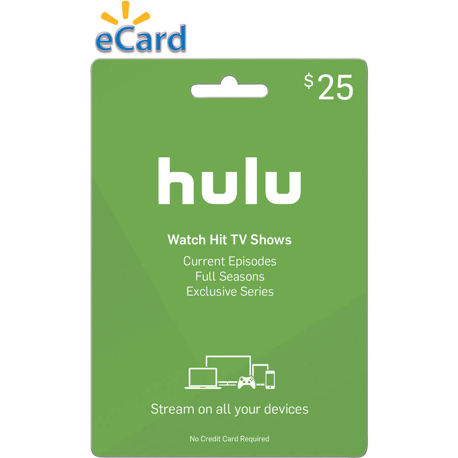 Hulu $25 (Email Delivery)