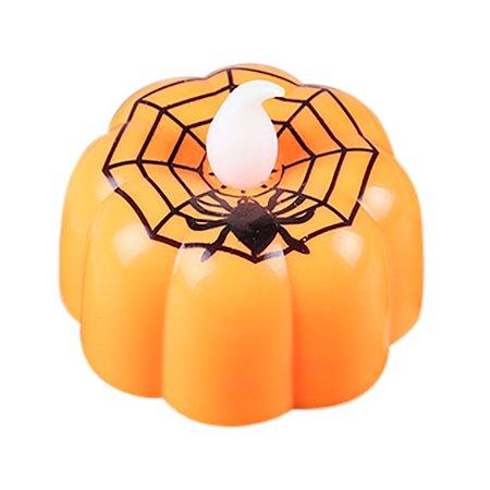 Halloween Restaurant Specials (Halloween Pumpkin Light Flickering LED Light Flameless Candle Special Party)