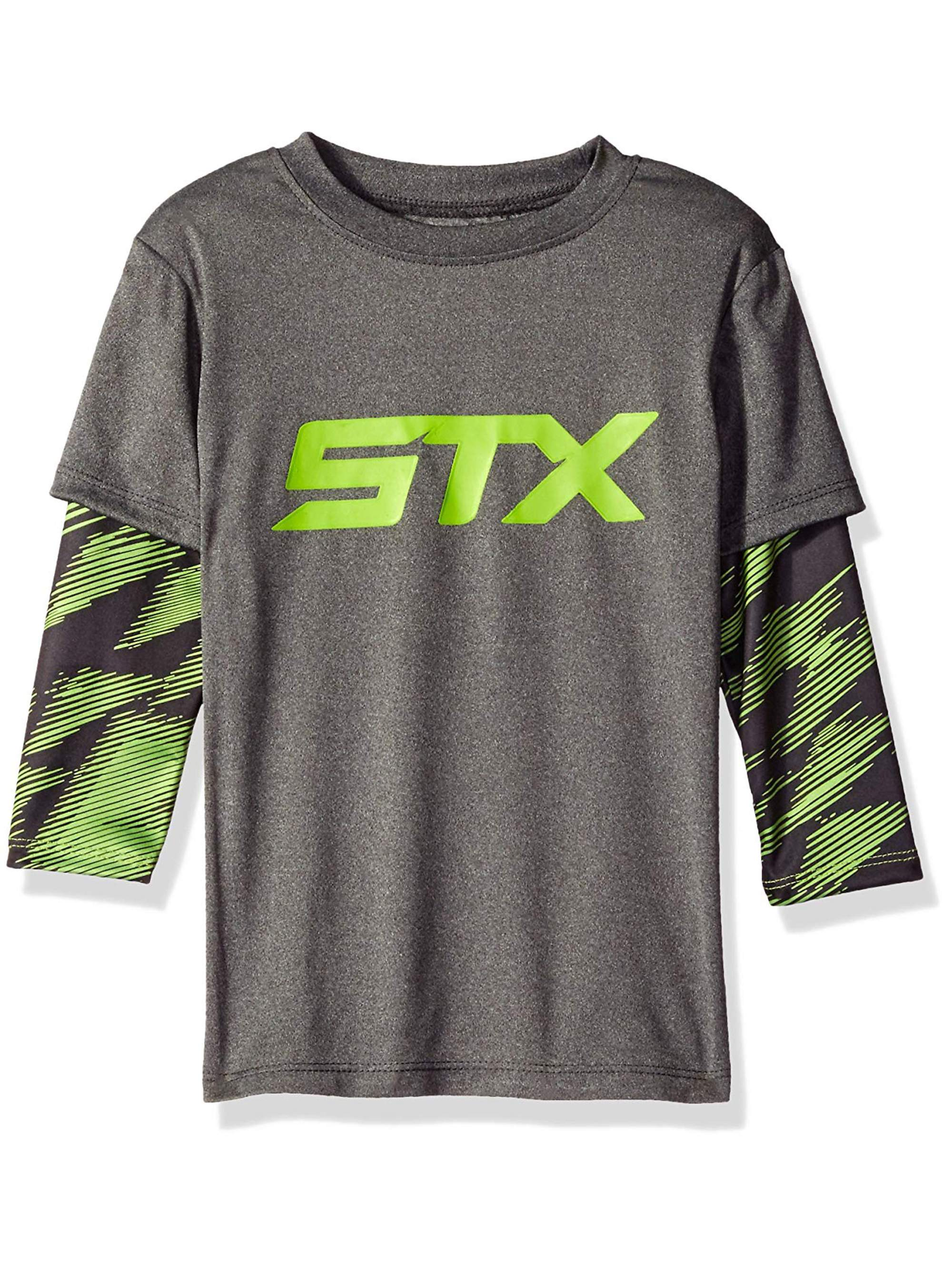 STX Active Performance Long Sleeve Hangdown Tee (Little Boys & Big Boys)