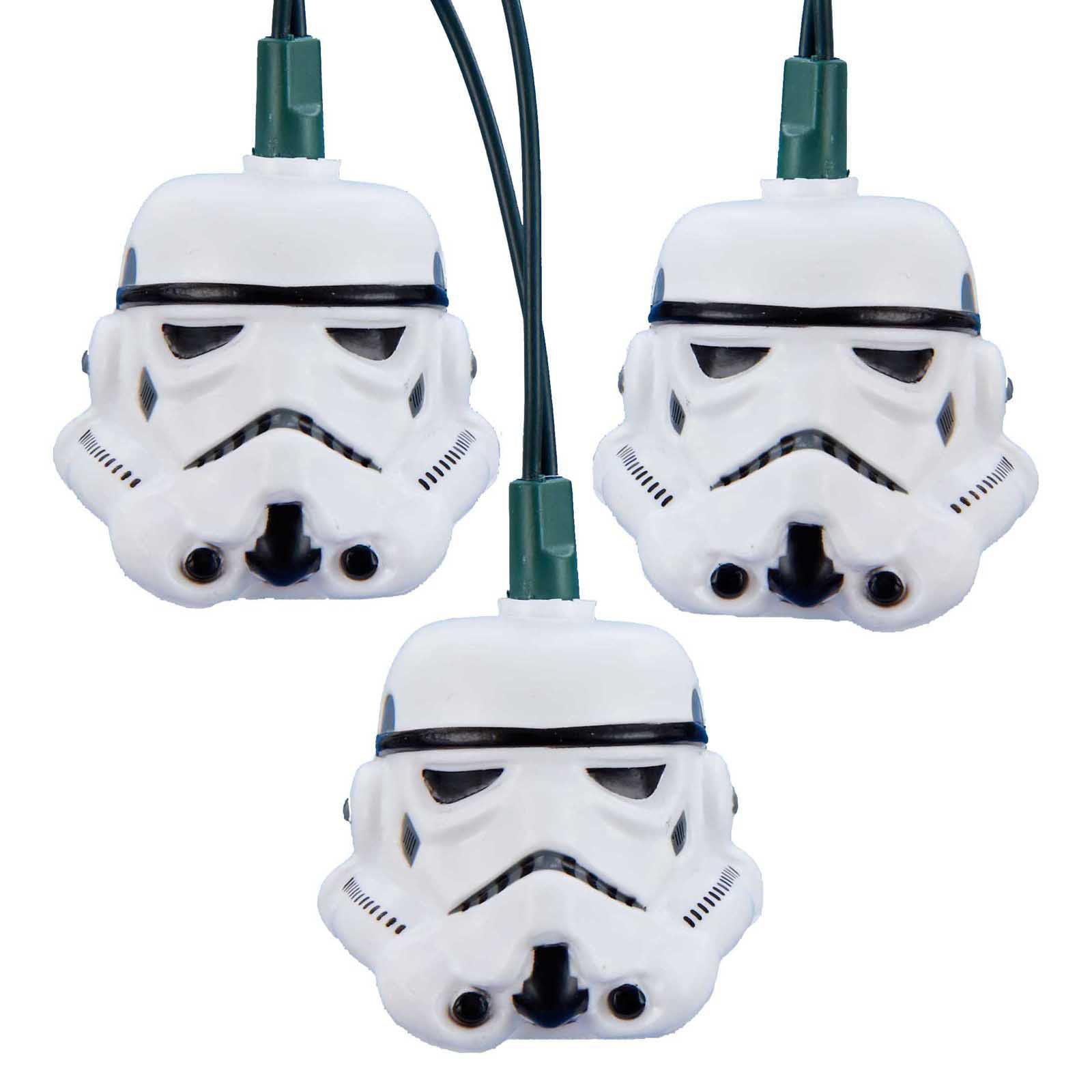 Kurt Adler UL 10-Light Stormtrooper Light Set