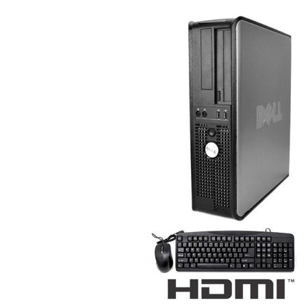 Dell (LPC-00050) Optiplex Desktop Computer 3.0 GHz Core 2 Duo Tower PC, 8GB RAM, 1 TB HDD, Windows 10, HDMI