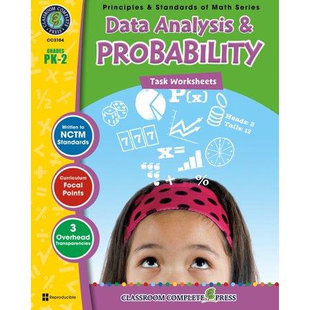 Data Analysis & Probability - Task Sheets Gr. PK-2 -