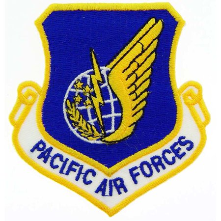 U.S. Air Force Pacific Air Forces Shield Patch 3