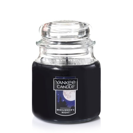 - Yankee Candle Medium Jar Candle, Midsummer's Night