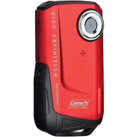 Coleman Red Xtreme Full 1080p HD Underwater Camcorder