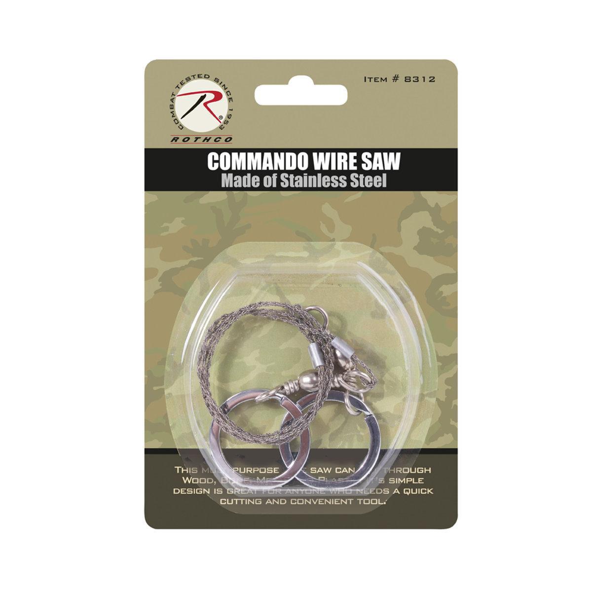 Rothco Camping/Survival Commando Wire Saw