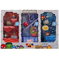 Tsum Tsum Marvel Collection Minifigure 12-Pack [Guardians of the Galaxy, Spider-Man & The Avengers]
