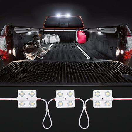 LED Interior Light Kit for Vehicle, Automobile, 5000K ...