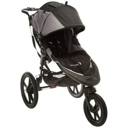 Baby Jogger 2016 Summit X3 Single Jogging Stroller - Black/Gray Black with Gray (Jogging Stroller Single)