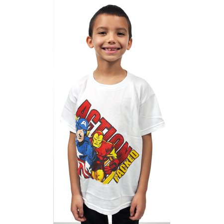 Marvel avengers boys superhero t shirt Boys superhero t shirts
