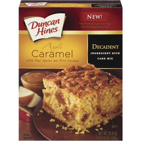 Duncan Hines Decadent Apple Caramel Cake