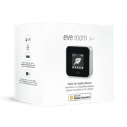Eve Room Indoor Air Quality, Temperature, and Humidity Sensor, Black