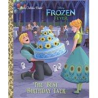 The Best Birthday Ever (Disney Frozen) (Hardcover)