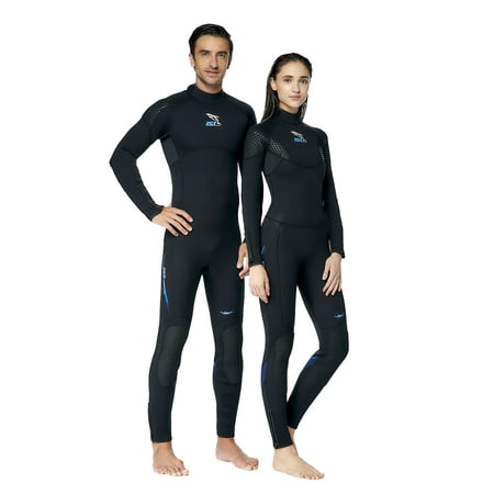 IST Full Body Wetsuit in 3mm, 5mm, 7mm for Scuba Diving, Snorkeling & Surfing (Women's 5) ()