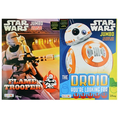 Star Wars Episode 7 JUMBO Coloring Books [2-Pack] - Assorted - image 1 of 1