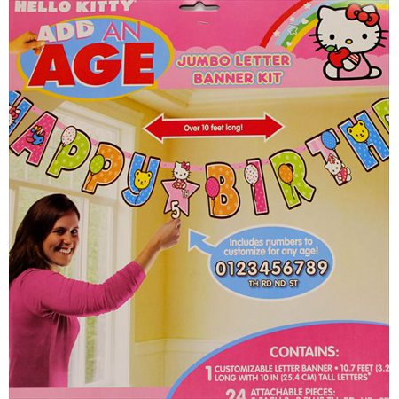 Amscan BB016214 Hello Kitty Party Banner for $<!---->