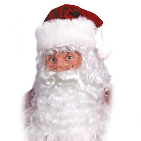 Santa Claus Wig And Beard Set (Santa Wig and Beard Set)