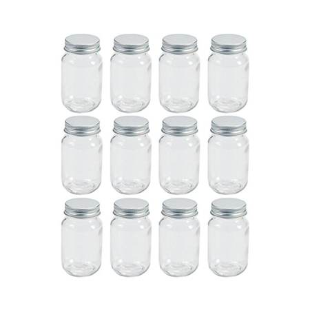 Mason Jars, Mini Glass Jars, Canning Jar Party Favor, Set of 12 - Mason Jar Centerpieces For Graduation Party