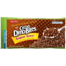 Breakfast Cereal: Cocoa Dyno Bites