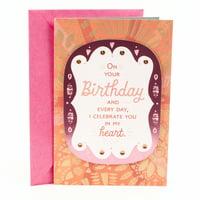 Hallmark Mahogany Birthday Greeting Card for Daughter (I Celebrate You)
