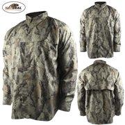 Natural Gear Lightweight Vented Shirt (XL)- Natural Camo