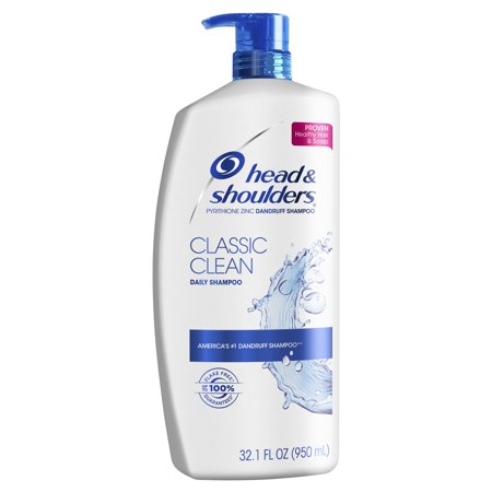 Head and Shoulders Classic Clean Daily-Use Anti-Dandruff Shampoo, 32.1 fl (Best Shampoo For Sisterlocks)