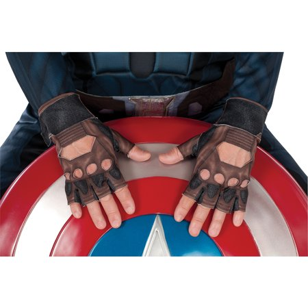 Child Captain American Stealth Gloves Halloween Accessory](Captain America Stealth Suit)