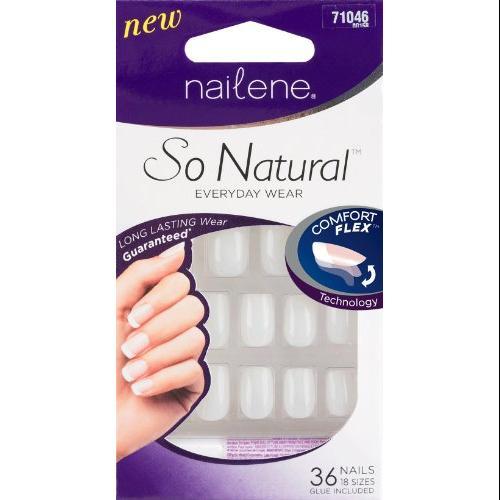 Nailene So Natural 36 Acrylic Nail Set