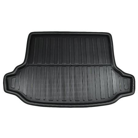 Black Car Rear Trunk Floor Mat Cargo Boot Liner Carpet Tray for Subaru Forester 09-12 Subaru Trunk Mat
