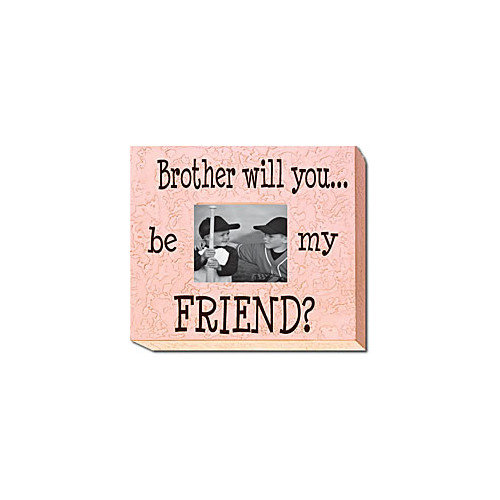 Forest Creations Brother Will You...Be My Friend? Picture Frame