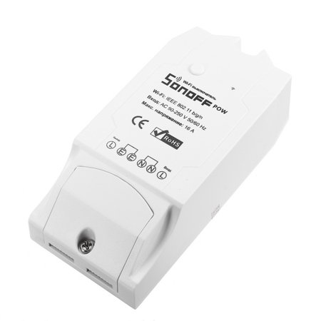16A WiFi Intelligent Smart Remote Control wirelessswitch Power Monitor  Tester Metering Switch Socket