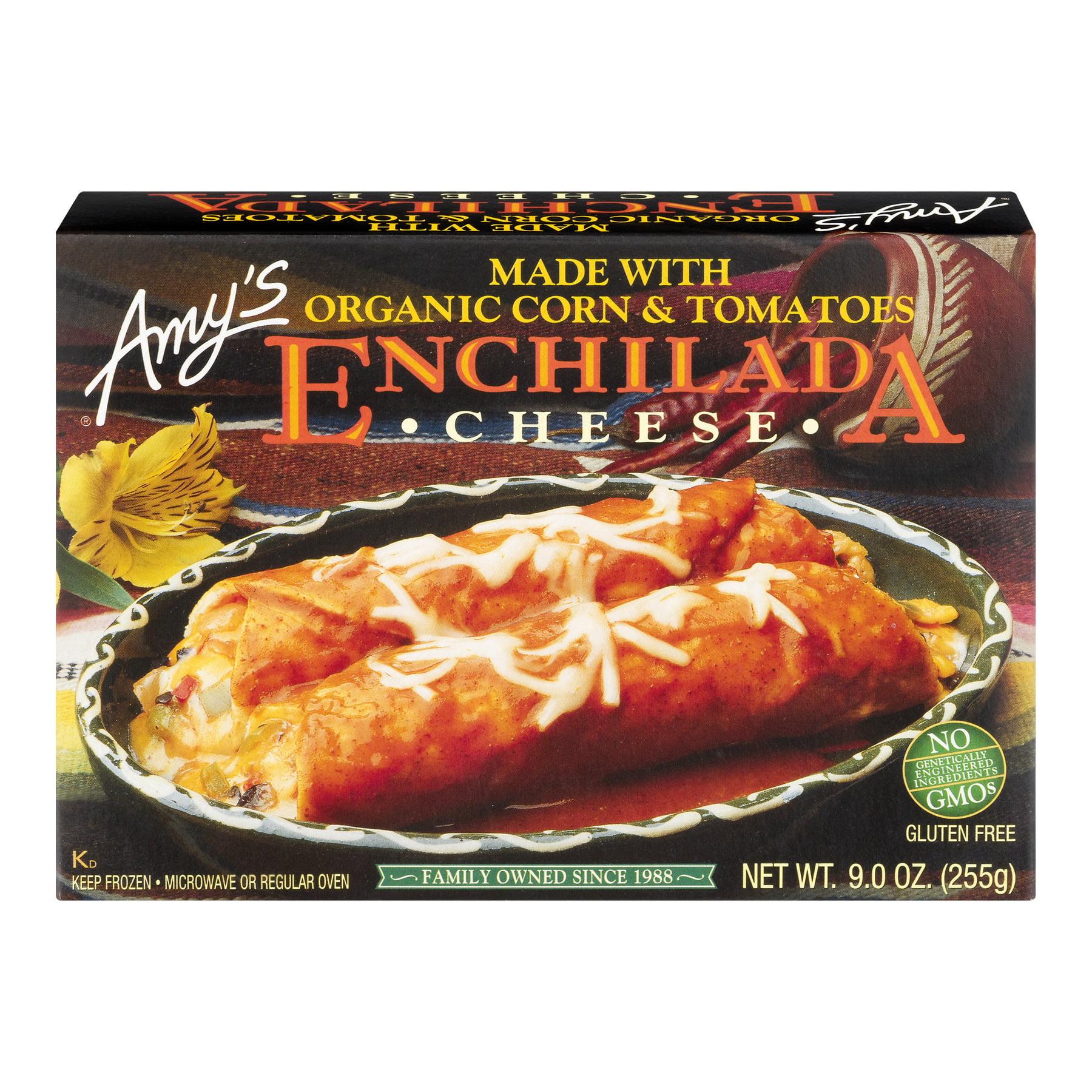Amy's Enchilada Cheese, 9.0 OZ