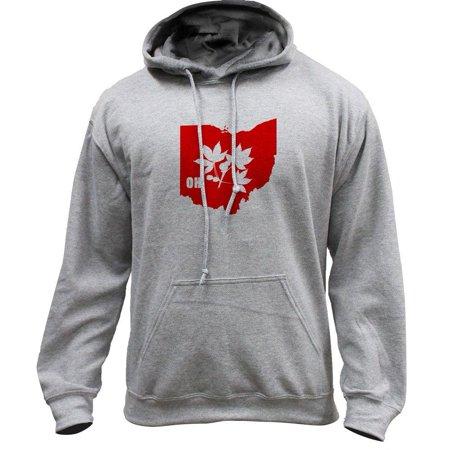 Original I Buckeye Ohio State Classic University Pullover Hoodie Sweatshirt