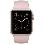 Refurbished Apple Watch Series 2 Rose Gold Case - Pink Sand Sport Band 38mm