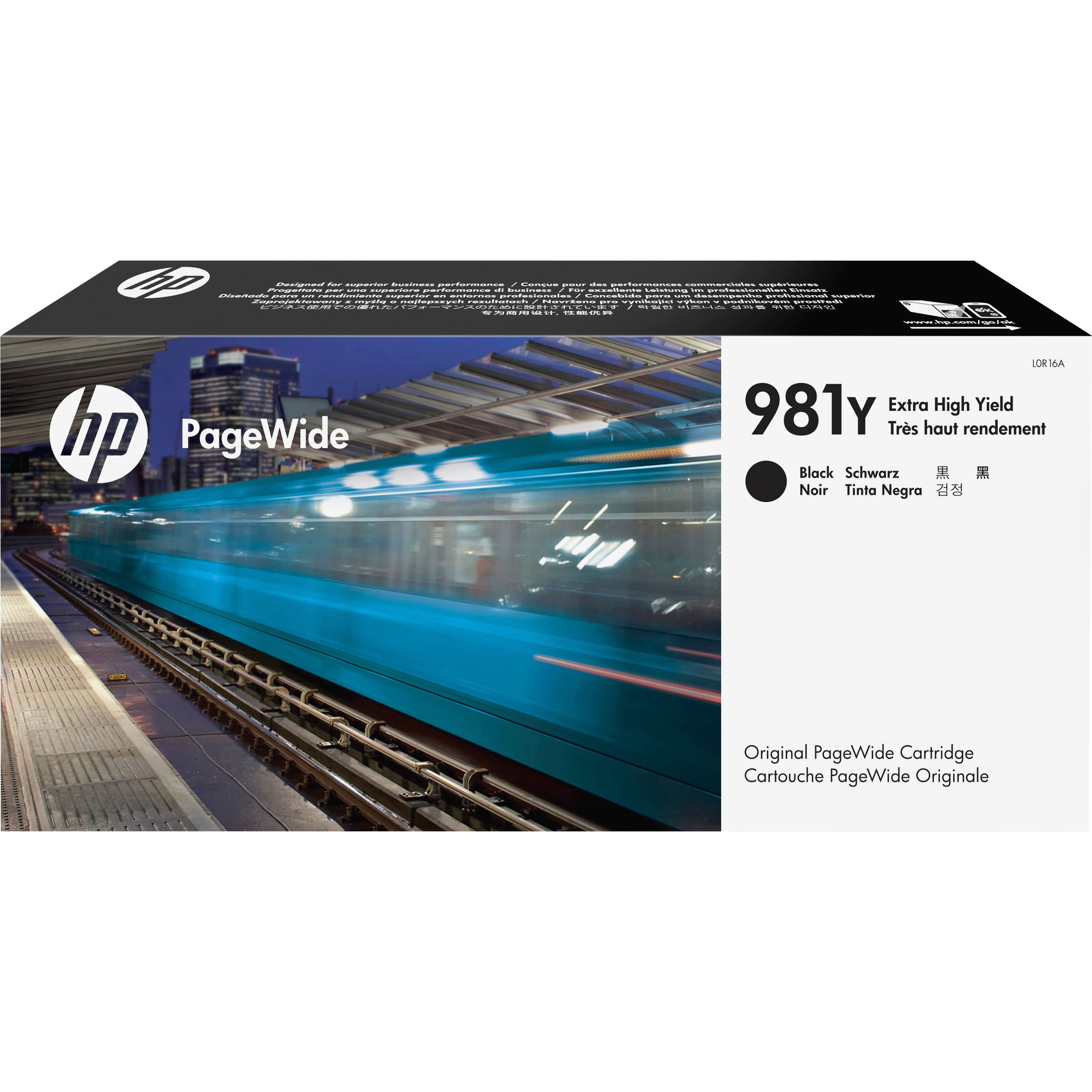 HP, HEWT0B07AG, 981G Original PageWide Cartridge, 1 Each