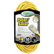 Coleman Cable 1288SW0002 50' 16/3 Polar Solar® Outdoor Extension Cord W/Lighted End