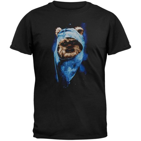 Star Wars - Ewok Spaced Out Adult T-Shirt - Adult Space