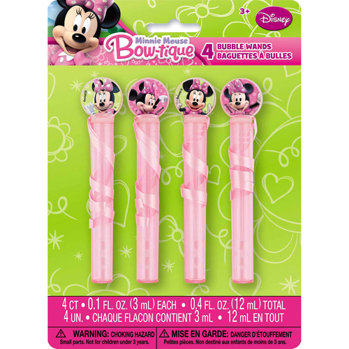 Minnie Mouse Bubbles, 4pk