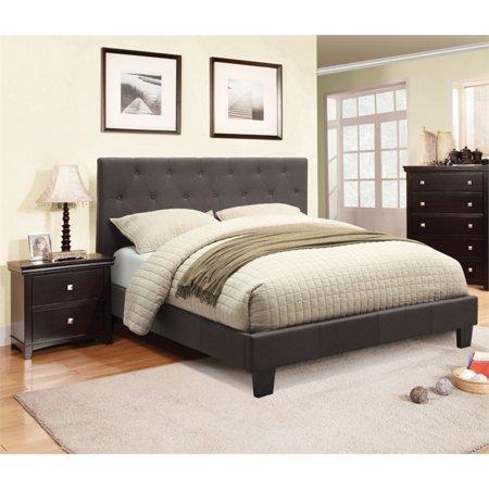 Furniture of America Warscher 2 Piece Upholstered Queen Bedroom (Best Place To Get Cheap Bedroom Furniture)