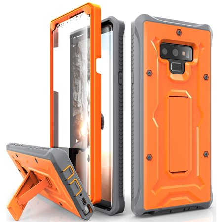 best sneakers 35892 04669 Galaxy Note 9 Case - ArmadilloTek Vanguard Series Military Grade Rugged  Case with Built-in Screen Protector and Kickstand for Samsung Galaxy Note 9  ...