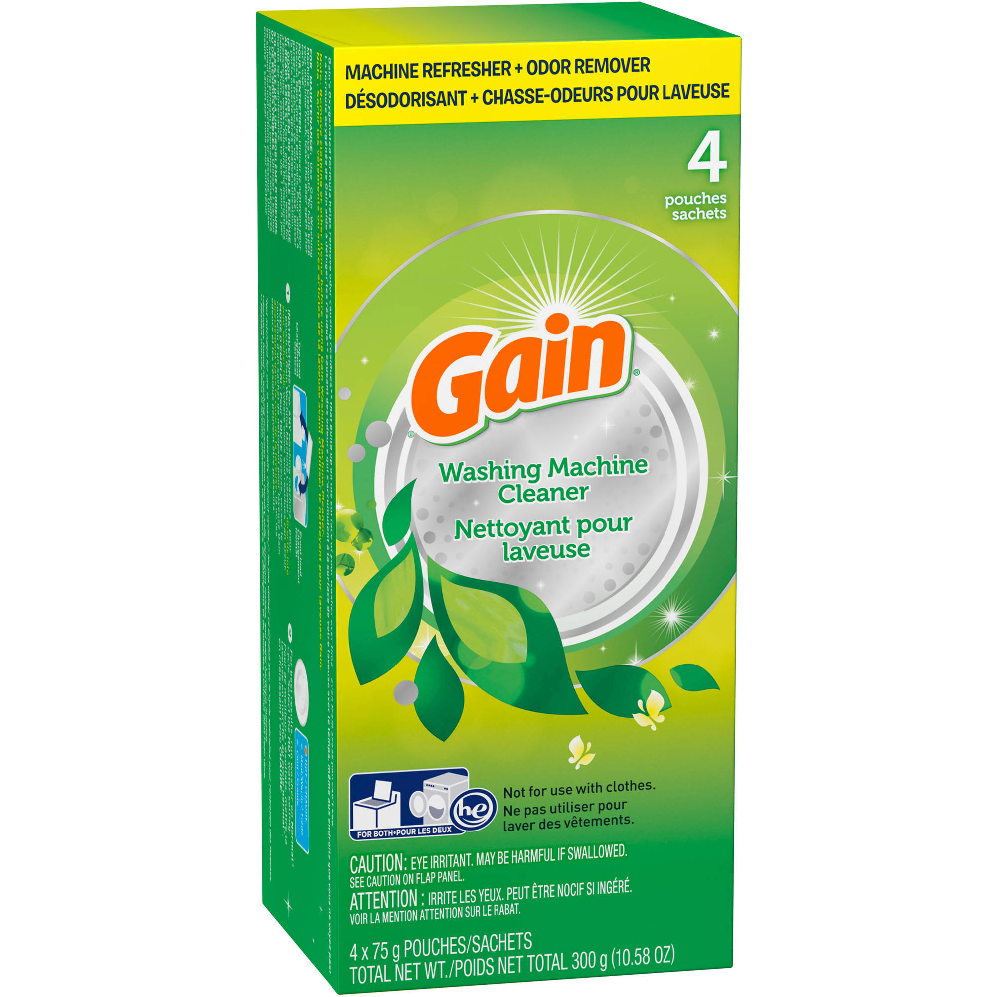Gain Original Washing Machine Cleaner, 4 count