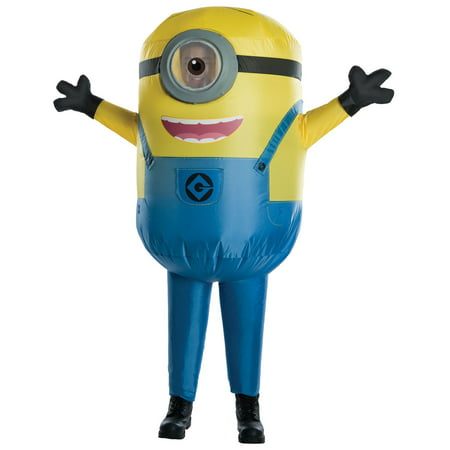 Men's Minion Stuart Inflatable Costume](Homemade Minion Costume For Adults)