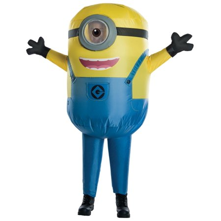 Men's Minion Stuart Inflatable - Minion Group Costume