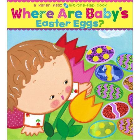 Where Are Babys Easter Eggs (Board Book)](Easter Crafts For Toddlers)