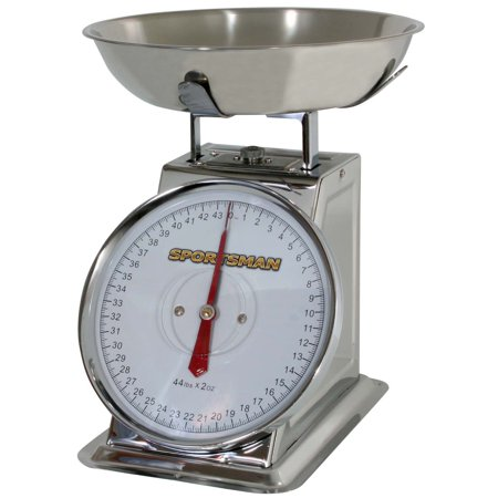 Sportsman Series 44 Lb Stainless Steel Dial Scale ()