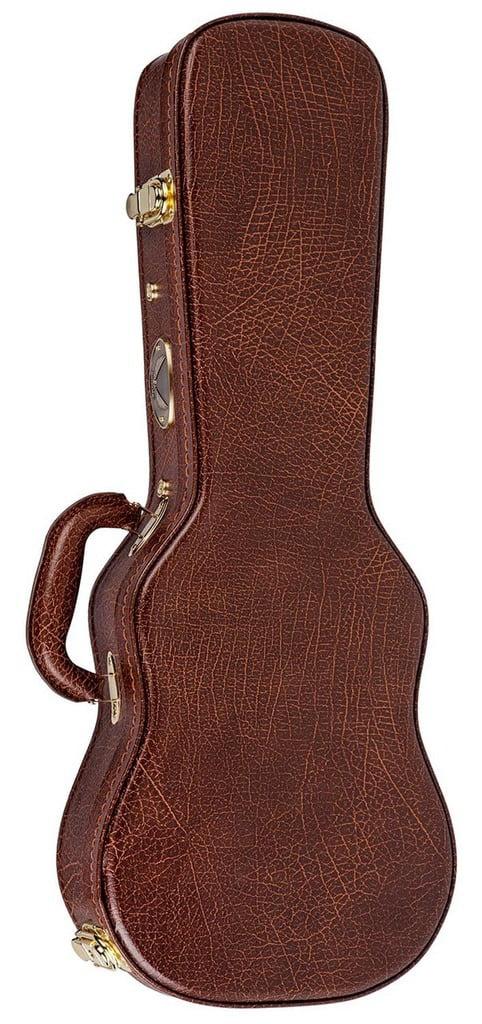 Dean Guitars Concert Ukulele Wood Hard Case, HS UKE C by Dean