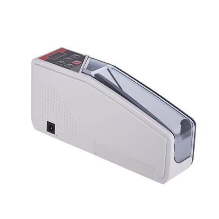 Portable Mini Handy Money Counter Worldwide Bill Cash Banknote Note Currency Counting Machine with LED Display Financial