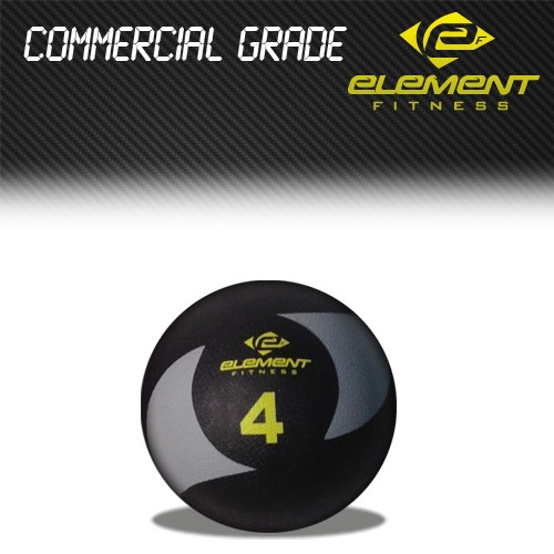 Element Fitness Commercial Medicine Ball-Weight:4lbs